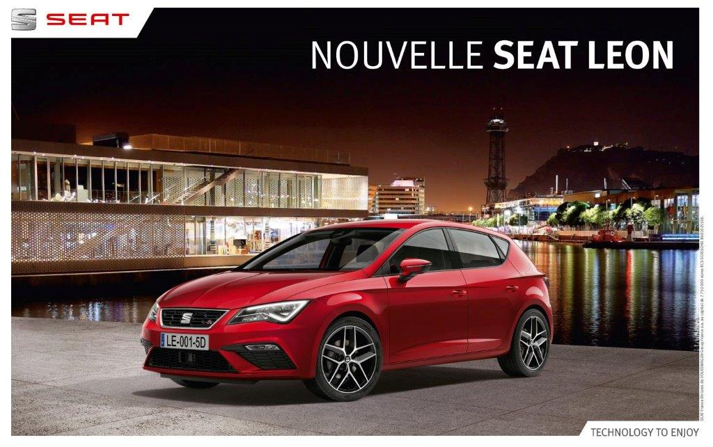 d couvrez la nouvelle seat leon draguignan puget sur argens trans en provence. Black Bedroom Furniture Sets. Home Design Ideas